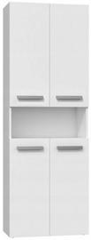 Top E Shop Bathroom Cabinet With 1 Basket White Matt