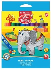 ErichKrause Art Berry Super Washable Fibre-Tip Pens 12pcs