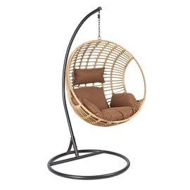Home4you Bora Swing Chair Brown