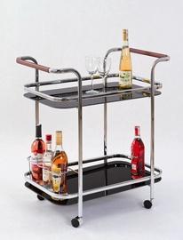 Baarilaud Halmar Bar-7 Black, 690x420x740 mm