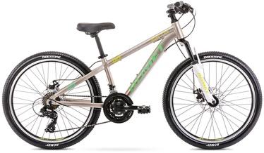Laste jalgratas Romet Rambler Dirt 24 JR 12'' 24'' Grey/Green 21