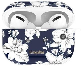 Laadimiskarbi kaaned Kingxbar Fresh Airpods Case Protector For Apple AirPods Pro Blue/White
