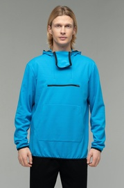 Audimas Mens Hoodie With Mask Blue M