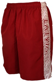 Bars Mens Sport Shorts Red/White 212 2XL