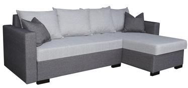 Угловой диван Platan Karol 04 Light Grey/Grey, 230 x 140 x 80 см