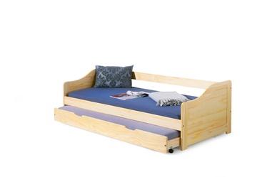 Детская кровать Halmar Laura Pine, 209x96 см