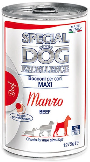 Monge Special Dog Excellence Maxi Adult Beef 1275g