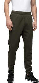 Audimas Cotton Tapered Fit Sweatpants Olive 176/XL
