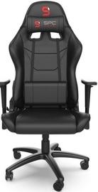 Игровое кресло SilentiumPC SR300 V2 Black