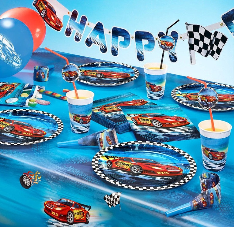 Susy Card Tablecloth 120 x 180cm Super Racer 11449600
