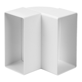 Ventilatsioonitoru põlv Europlast, 110 x 55 mm, vertikaalne