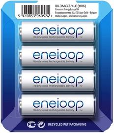 Panasonic Eneloop HR6 AA x 4 BK-3MCCE/4LE 1900 mAh