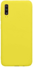 Evelatus Soft Touch Back Case For Samsung Galaxy A70 Yellow