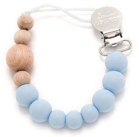 Loulou Lollipop Pacifier Clip Baby Blue