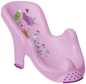 Keeeper Anatomic Baby Bath Chair Hippo Lilac