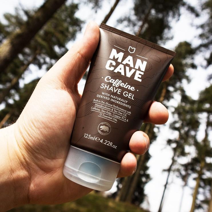 Mancave Caffeine Shave Gel 125ml