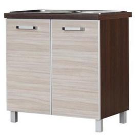 Alumine köögikapp Bodzio Ola Under The Sink 80 Nut Latte, 800x520x860 mm