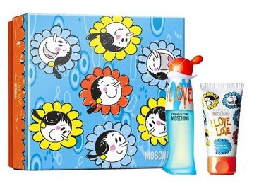 Moschino I Love Love 30ml EDT + 50ml Body Lotion