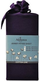 Ardenza Jersey Fitted Sheet 90-100x200cm Violet
