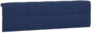 Black Red White Tetrix Headboard Upholstered Cover 160 Blue