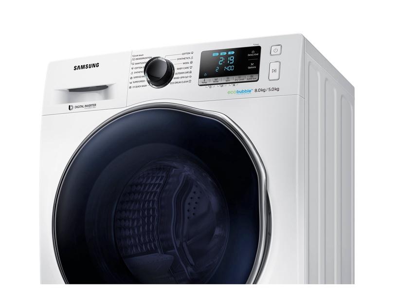 Pesumasin-kuivati Samsung WD80J6A10AW/LE