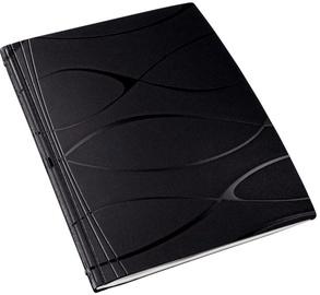 Esselte Covers For Binding 7mm/36-70p./Vivanto Black