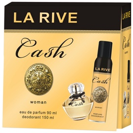 La Rive Cash Woman 90ml EDP + 150ml Deodorant Spray