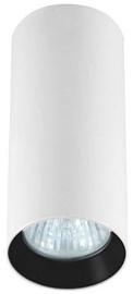 Light Prestige Manacor 17cm Ceiling Lamp 50W GU10 White/Black