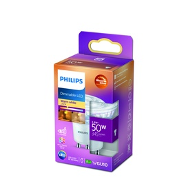Lambipirn Philips 929002065750, led, GU10, 3.8 W, 390 lm, soe valge