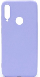 Evelatus Soft Silicone Back Case For Huawei P30 Lite Blue