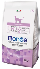 Monge Natural Superpremium Sterilised Rich in Chicken 1.5kg
