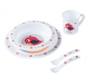 Canpol Babies Plastic Ware Set Cute Animals 4/401 Bird