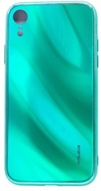 Evelatus Water Ripple Electroplating Back Case For Apple iPhone XR Green