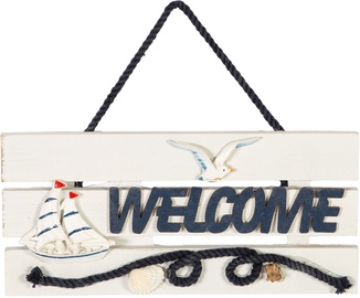Home4you Beach House Door Sign Welcome