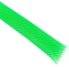 Techflex Flexo PET Sleeve 13mm Neon Green 1m