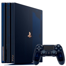 "Sony Playstation 4 (PS4) Pro 2TB ""500 Million"" Translucent Blue Limited Edition"