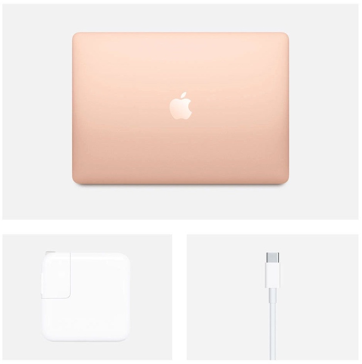 "Apple MacBook Air 13.3"" Retina DC / i3 1.1GHz / 8GB / 256 SSD / ENG Gold"