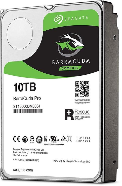 Seagate BarraCuda Pro 10TB 7200RPM SATA III 256MB ST10000DM0004