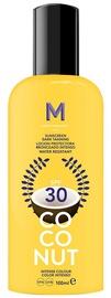 Mediterraneo Sun Coconut Suntan Oil Dark Tanning SPF30 100ml