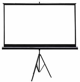 4World Projection screen with stand 186x105