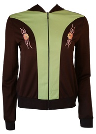 Bars Womens Sport Jacket Brown/Green 132 S