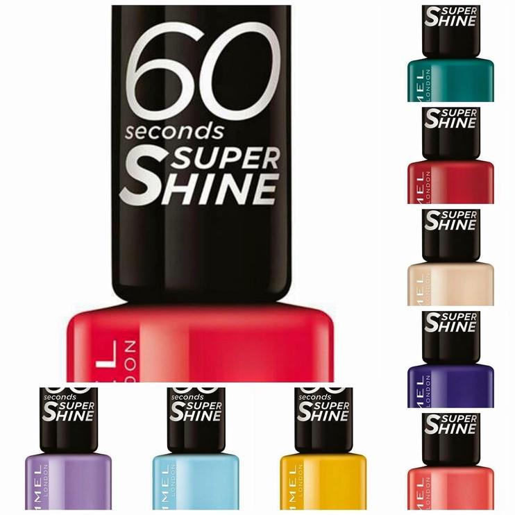 Rimmel London 60 Seconds Super Shine 8ml Nail Polish 500