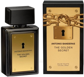 Parfüümid Antonio Banderas The Golden Secret 100ml EDT