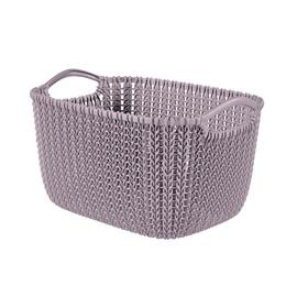 Curver Knit S Rectangular Basket Light Purple