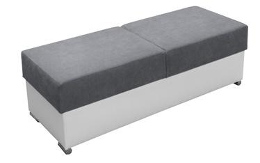 Tumba Idzczak Meble Grand Grey, 140x53x45 cm