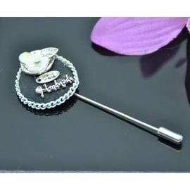 Vincento Brooch With Zirconium Crystal LD-1115