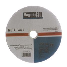 Lõikeketas Vagner 180x1.6x22.23mm, metallidele