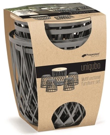 Комплект уличной мебели Prosperplast Uniqubo Multifunctional Grey, 4 места