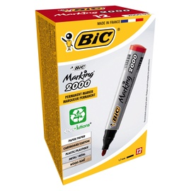 BIC Marking 2000 Permanent Marker Red