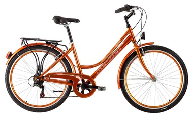 "Jalgratas Kenzel Boulevard 44cm 26"" Orange 17"